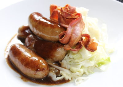 BELLMULLET BANGERS AND MASH