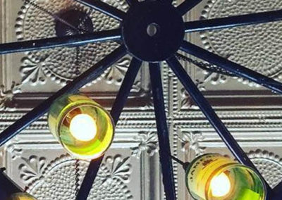 Blackthorn Restaurant and Irish Pub - New Brunswick - Jameson Chandelier