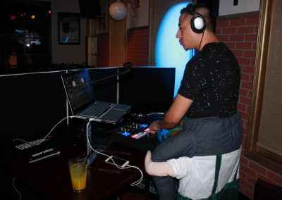 Our DJ on Halloween