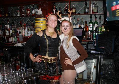 Our Bartenders Dressed Up for Halloween