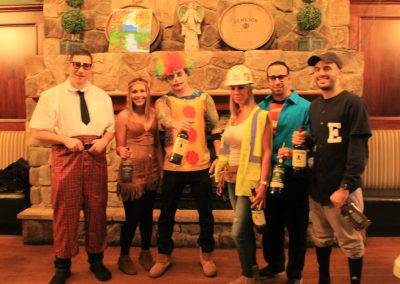 Our Staff all dressed up for our Halloween Party