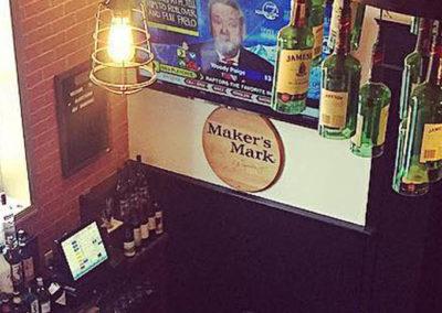Blackthorn Restaurant and Irish Pub - New Brunswick - Jameson Chandelier and Entrance