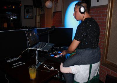 Our DJ on Halloween